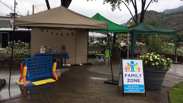Family Zone at the Market on the Esplanade