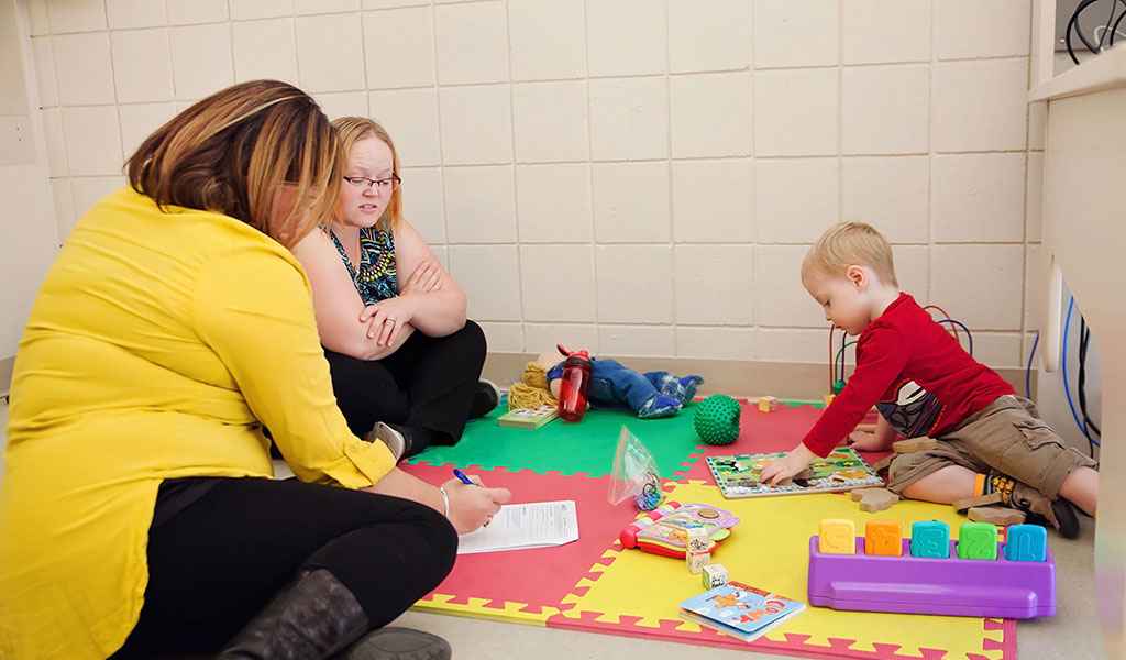 Ages and Stages Developmental Check Up Spring Clinic