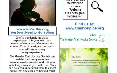 Children's Grief Group Starting up in Trail Next Week