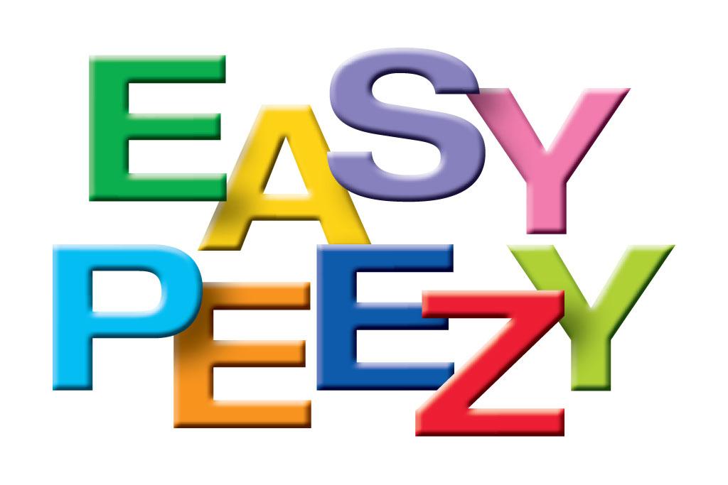 Easy Peezy Project Logo Text