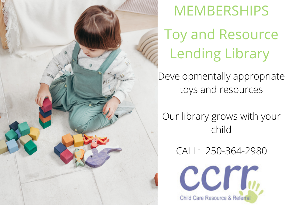 Toy Lending Library FREE memberships