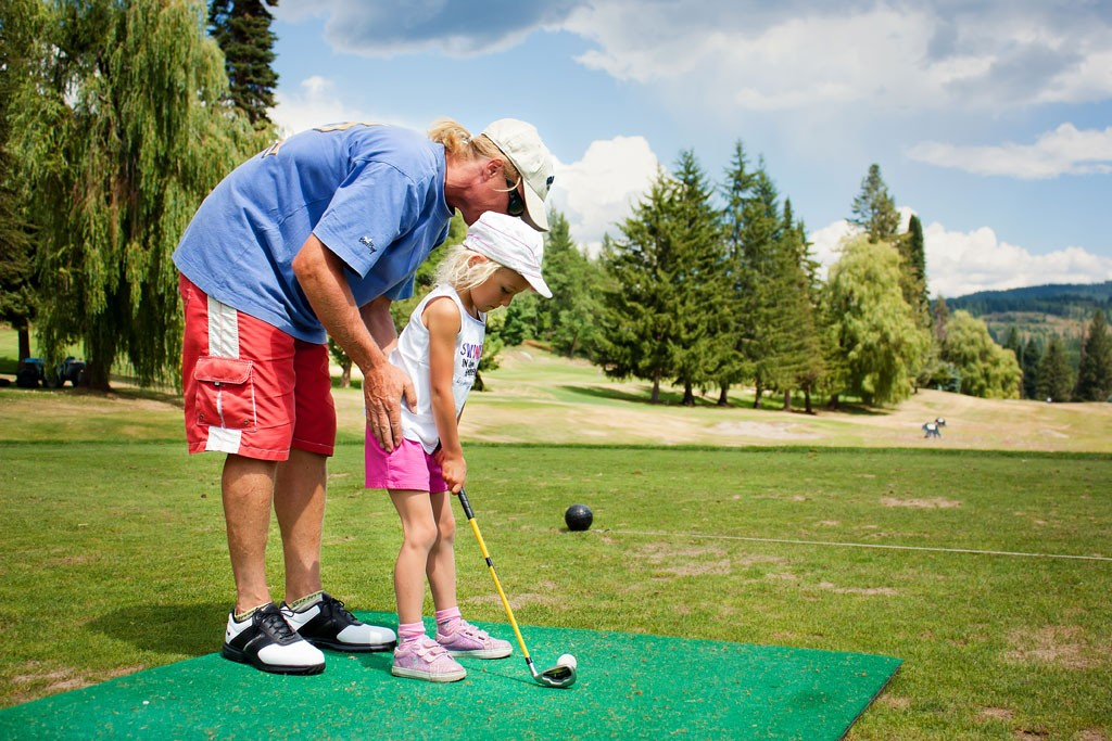 Golf lessons from Dad