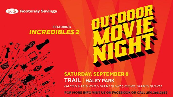 Trail Outdoor Movie Night Returns