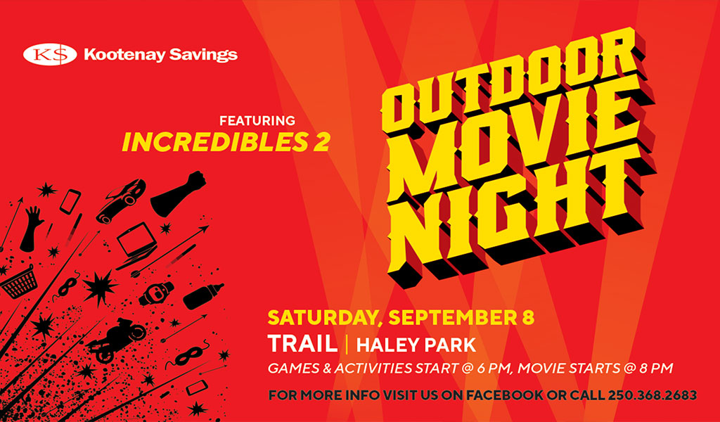 Trail Outdoor Movie Night Returns
