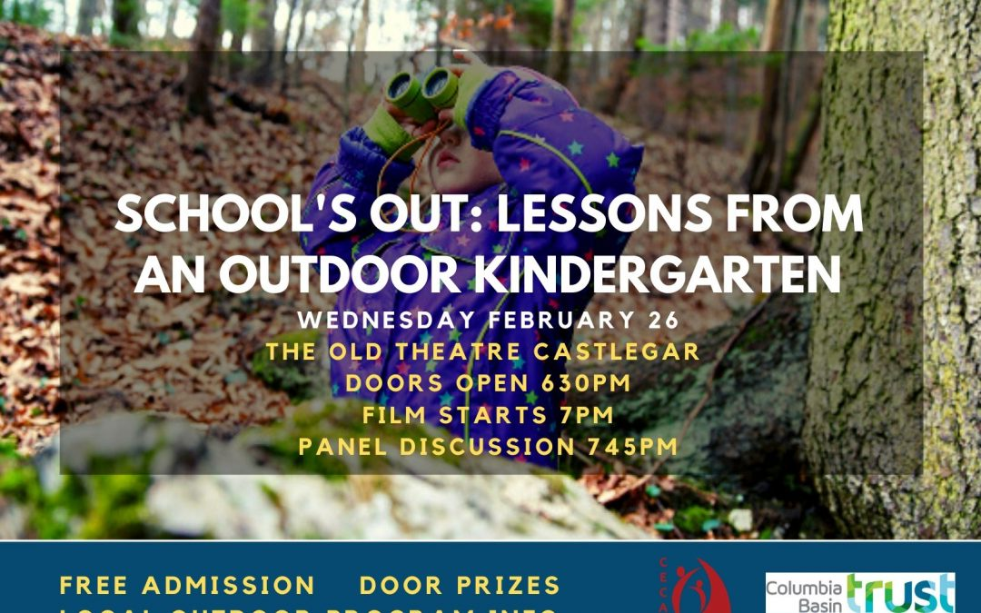 School's Out: Lessons from an Outdoor Kindergarten