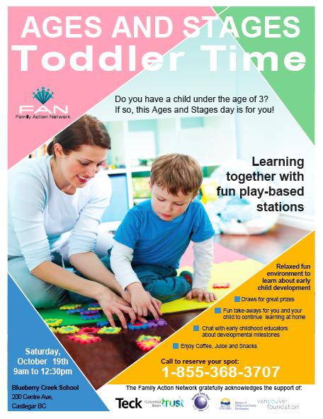 Toddler Time Ages and Stages