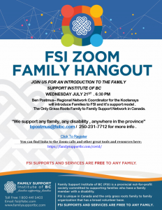 FSI Zoom Family Hangout @ Online