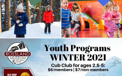 Fun Programs at the Rossland Museum