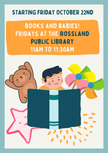Books & Babies (Baby) @ Rossland Library