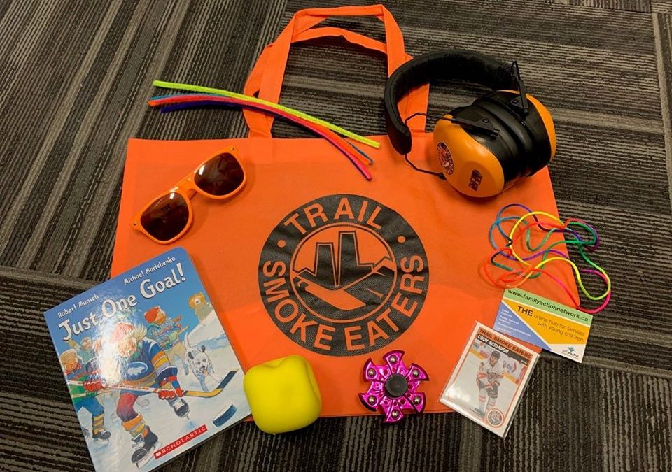 Sensory Kits available at Smokies games